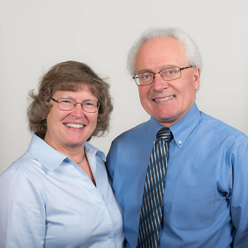 Doctors John and Sharon Koncan